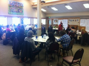 A group of community providers during our last Filling the Gaps meeting.