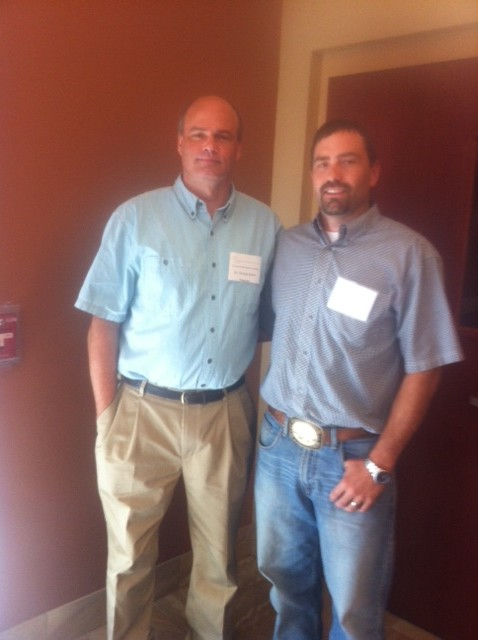 Dr. Thomas Joiner and I at the SPAN 2014 Conference in Boise Idaho