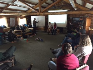 Here was a suicide prevention training we did on behalf of JHCCC for the Teton Science School.